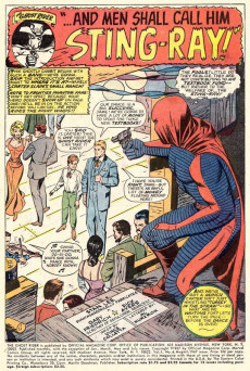Extrait de Ghost Rider Vol.1 (Marvel Comics - 1967) -4- And Men Shall Call Him...Stingray!