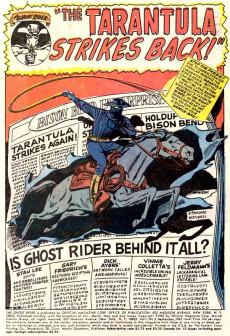 Extrait de Ghost Rider Vol.1 (Marvel Comics - 1967) -5- The Tarantula Strikes Back!