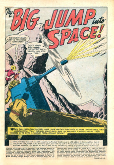 Extrait de Strange adventures (1950) -99- The Big Jump Into Space!