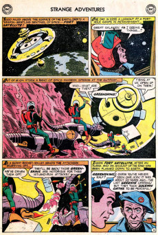 Extrait de Strange adventures (1950) -98- Attack on Fort Satellite!