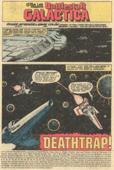Extrait de Battlestar Galactica (1979) -3- Deathtrap!