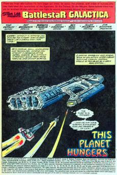 Extrait de Battlestar Galactica (1979) -10- This Planet Hungers...