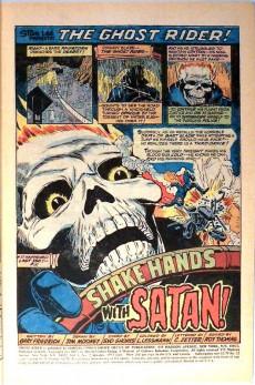 Extrait de Ghost Rider Vol 2 (Marvel - 1973) -2- Shake Hands With Satan!