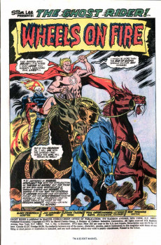 Extrait de Ghost Rider Vol.2 (Marvel comics - 1973) -3- It's Hell on Wheels...