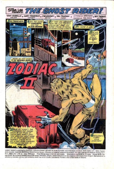 Extrait de Ghost Rider Vol 2 (Marvel - 1973) -6- The Menace of the Second Zodiac!