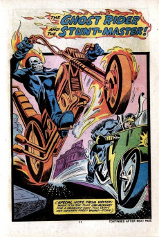 Extrait de Ghost Rider Vol 2 (Marvel - 1973) -7- ...And Loses His Own Soul!
