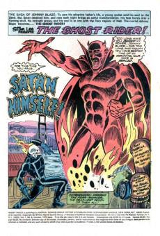 Extrait de Ghost Rider Vol.2 (Marvel comics - 1973) -8- The Devil's Disciple!