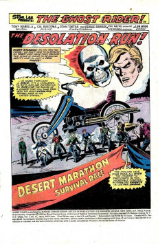 Extrait de Ghost Rider Vol.2 (Marvel comics - 1973) -11- Desolation Run
