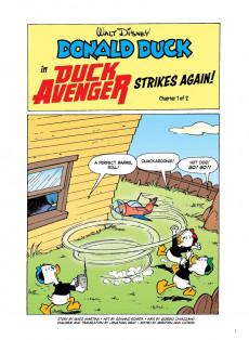 Extrait de Disney Masters (Fantagraphics Books) -8- Donald Duck: Duck Avenger Strikes Again