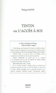 Extrait de (AUT) Hergé - Tintin ou l'accès à soi