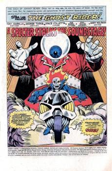 Extrait de Ghost Rider Vol.2 (Marvel comics - 1973) -14- A Specter Stalks the Soundstage!