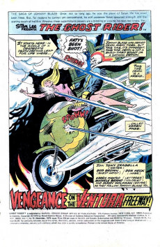Extrait de Ghost Rider Vol.2 (Marvel comics - 1973) -15- Vengeance on the Ventura Freeway!