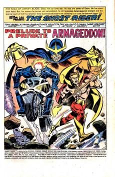 Extrait de Ghost Rider Vol.2 (Marvel comics - 1973) -17- Prelude to a Private Armageddon!