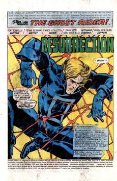 Extrait de Ghost Rider Vol.2 (Marvel comics - 1973) -19- Resurrection!