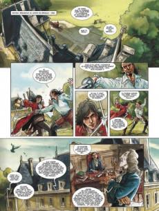 Extrait de Le chevalier d'Éon (Delalande/Mogavino/Lapo) -1- La fin de l'innocence