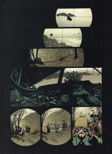 Extrait de La ballade du soldat Odawaa
