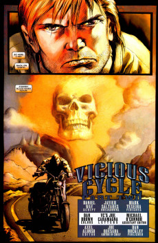 Extrait de Ghost Rider Vol 6 (Marvel - 2006) -2- Vicious Cycle (Part II of IV)