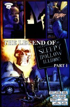 Extrait de Ghost Rider (2006) -8- The Legend of Sleepy Hollow, Illinois Part 1