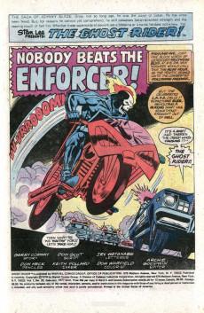 Extrait de Ghost Rider Vol.2 (Marvel comics - 1973) -22- Nobody Beats the Enforcer!