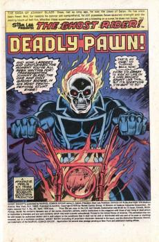 Extrait de Ghost Rider Vol.2 (Marvel comics - 1973) -29- Deadly Pawn!
