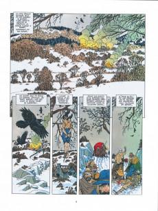 Extrait de Les grands Classiques de la BD Historique Vécu - La Collection -1- Les Sept Vies de l'épervier - Tome I : La Blanche morte