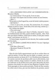 Extrait de Tif et Tondu -Roman01- L'Antiquaire Sauvage