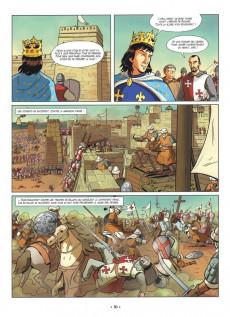 Extrait de Les fauves -1- Richard Cœur de Lion