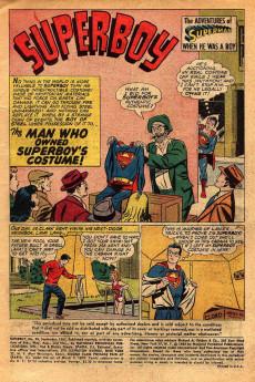 Extrait de Superboy (1949) -99- The Kryptonite Kid!