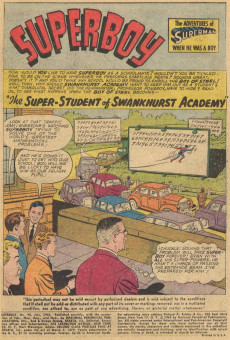 Extrait de Superboy (1949) -98- The Boy with Ultra-Powers!