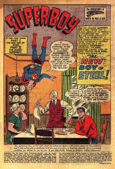 Extrait de Superboy (1949) -96- The Enemy Superboy!