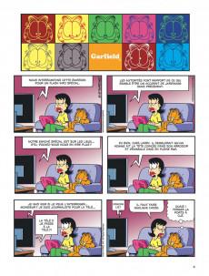Extrait de Garfield -69- Garfield gribouille