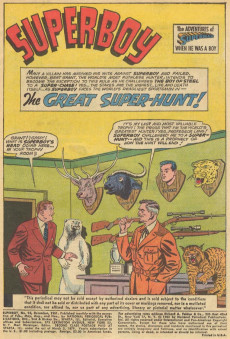 Extrait de Superboy (1949) -93- Lana Lang's Superboy Identity Detection Kit!