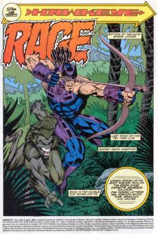 Extrait de Hawkeye (1994) -4- As You've Never Seen Him! Rage!