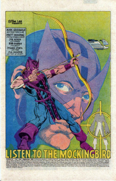 Extrait de Hawkeye (1983) -1- The Avengers' Ace Archer-- On His Own... On a Rampage!