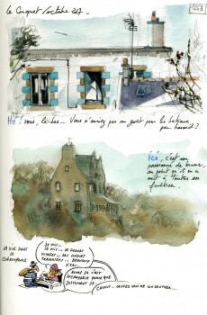 Extrait de Une Bretagne par les contours -11- De la Pointe Saint-Mathieu à l'Hopital Camfrout en passant par Brest