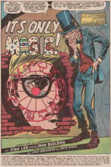 Extrait de Chamber of Darkness (Marvel - 1969) -1- Tales of maddening magic!