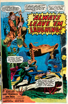 Extrait de Chamber of Darkness (Marvel - 1969) -Special01- 5 tales of maddening magic!