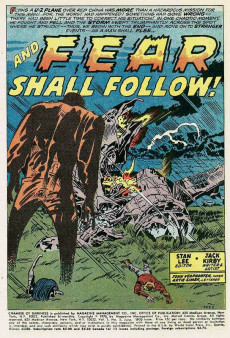 Extrait de Chamber of Darkness (Marvel - 1969) -5- ...And Fear Shall Follow!