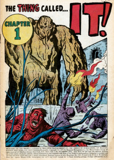 Extrait de Monsters on the prowl (Marvel comics - 1971) -15- The Thing Called It!
