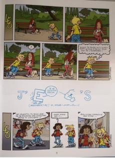 Extrait de Léo et Lu -9- Piques épiques, écoles et drames... cours et cour et ras les blâmes !