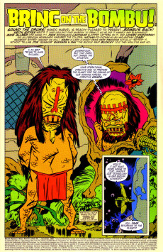 Extrait de Marvel Monsters Vol 1 (2005) - Where Monsters Dwell