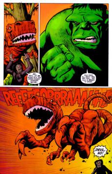 Extrait de Marvel Monsters Vol 1 (2005) - Devil Dinosaur