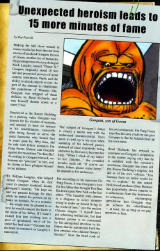 Extrait de Marvel Monsters Vol 1 (2005) - From the Files of Ulysses Bloodstone and the Monster Hunters