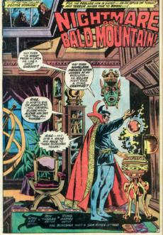 Extrait de Marvel Feature Vol 1 (Marvel - 1971) -2- Nightmare on Bald Mountain!