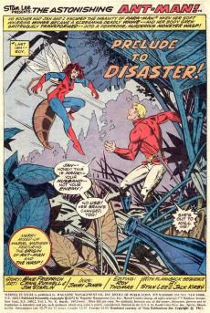 Extrait de Marvel Feature Vol 1 (Marvel - 1971) -8- The Astonishing Origin of the Wonderful Wasp!