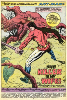 Extrait de Marvel Feature Vol 1 (Marvel - 1971) -9- My Wife -- the Killer!