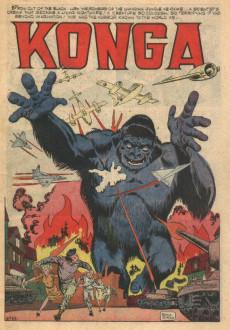 Extrait de Konga (Charlton - 1960) -1- ... As big as King Kong