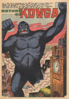 Extrait de Konga (Charlton - 1960) -2- (sans titre)