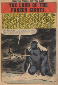 Extrait de Konga (Charlton - 1960) -8- The Land of Frozen Giants