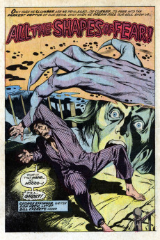 Extrait de Chamber of Chills (Marvel - 1972) -3- The Thing on the Roof!